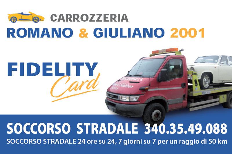 Soccorso Stradale Gratis Con La Nostra Fidelity Card