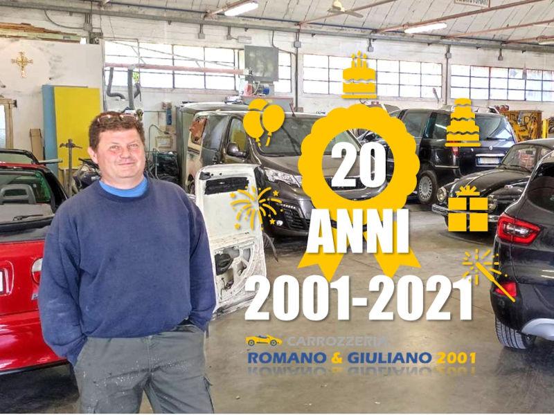 La Carrozzeria Romano & Giuliano 2001 Festeggia 20 Anni Con Un Regalo